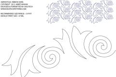 B046 Ribbon Swirl