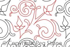 C045 Scrolly Swirls