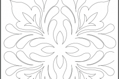 D044 Leaf Arabesque