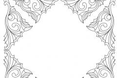 D052 Ornamental Frame
