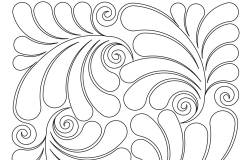 D067 Swirls and Feathers