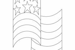 D076 Waving Flag