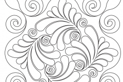 D089 Swirls and Feathers 2